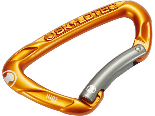 Skylotec Flint Bent Carabiner orange